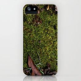 Mossy Plot iPhone Case