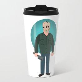 Jason Voorhees Friday the 13th Part 3 Travel Mug