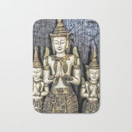 3 Buddhas Bath Mat