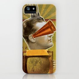 Plugged In iPhone Case