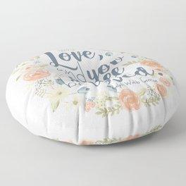 Sweet Sayings 3 Floor Pillow