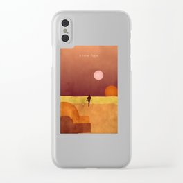 A New Hope Clear iPhone Case