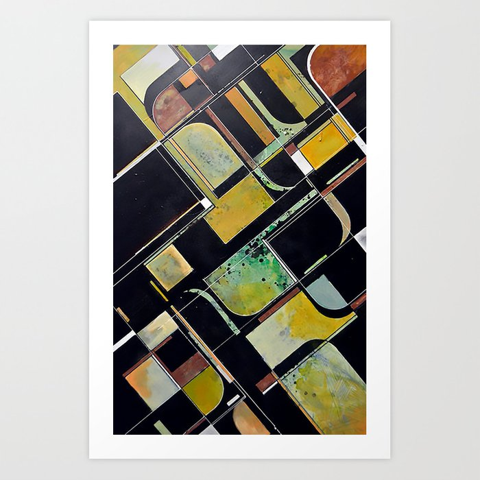 Entropy (In Living Color) Art Print