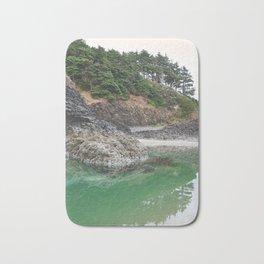 Oregon Coast Tide Pool Green Glowing Forest Coastal Cliff Rocky Landscape Beach Northwest Volcano Bath Mat