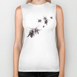 Crown of Bees Biker Tank