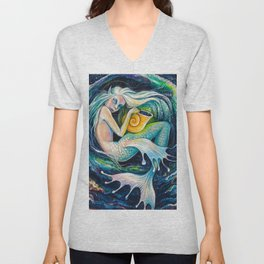 Sweet Dreams (Little Mermaid) Unisex V-Neck