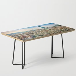 Aerial view and cityscape of Taipei, Taiwan Coffee Table