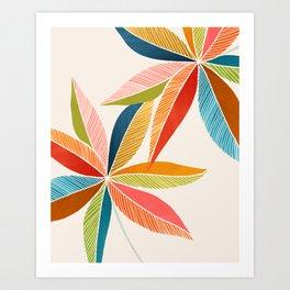 Multicolorful Art Print
