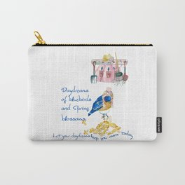 Daydreams of Spring Carry-All Pouch