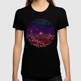 INTENSE SUNSET MANDALA T-shirt
