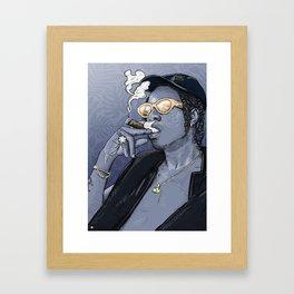 Joey Bada$$. Framed Art Print