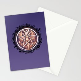 Goddess Pentacle Stationery Cards