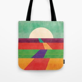 The path leads to forever Tote Bag