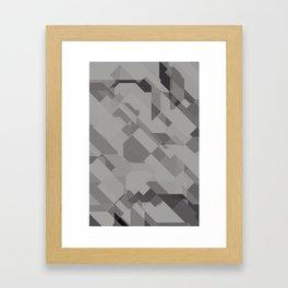 Graphites Framed Art Print