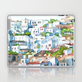 Panorama of Lindos Laptop & iPad Skin