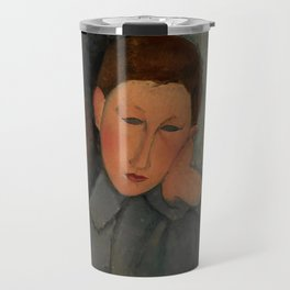 "Amedeo Modigliani ""The Boy"" Travel Mug"