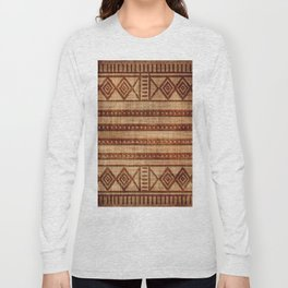 -A24- African Moroccan Traditional Artwork. Long Sleeve T-shirt
