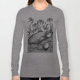The Golden Fish (1) Long Sleeve T-shirt