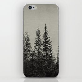 the edge of the forest iPhone Skin