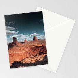 monument valley landscape Stationery Cards