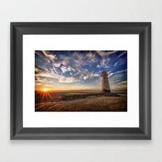 Talacre Lighthouse Framed Art Print