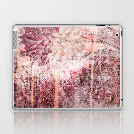 Mauve Grunge Flower by lauragordon