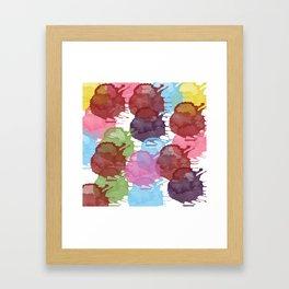 Splatter Happy Framed Art Print