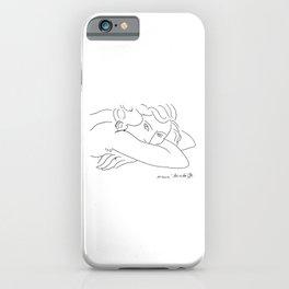 Young Woman With Face Buried In Arms (jeune Femme Le Visage Enfoui Dans Les Bras), Henri Matisse, Ar iPhone Case