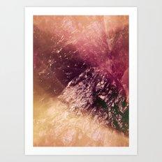 Crystal Abstract Art Print