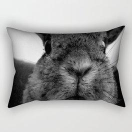 Disapproving Peanut Rectangular Pillow