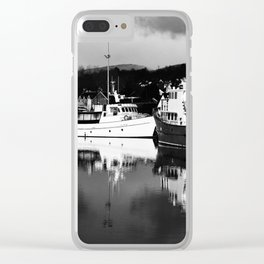 Boats on the Canal Clear iPhone Case