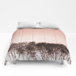 Blush pinky sky Comforters