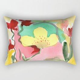 One Minute Painting Rectangular Pillow