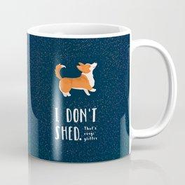 Corgi Glitter - Pembroke Welsh Corgi Coffee Mug