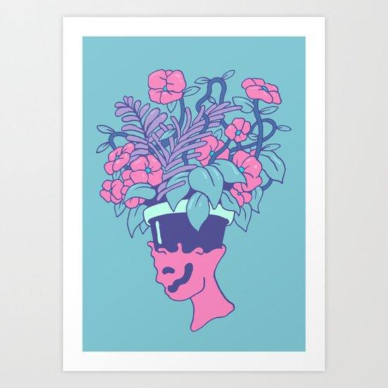 Pot Head Art Print
