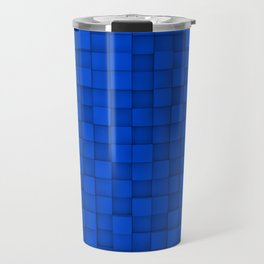 Wall of cubes Travel Mug