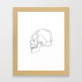 Cranial Bones Framed Art Print