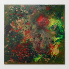 Biomorphic Pool 4 Canvas Print