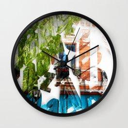 LETRAS - BONS ARES 1 Wall Clock