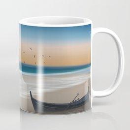 Morning on the beach Coffee Mug