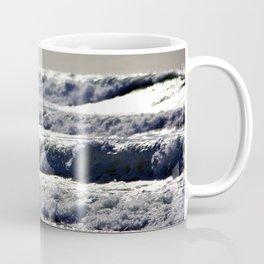 Waves of Liquid Silver by Reay of Light Coffee Mug