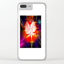 Heavenly apparition 5 Clear iPhone Case