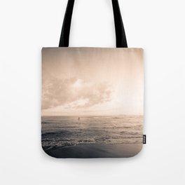 calm day ver.warmblack Tote Bag