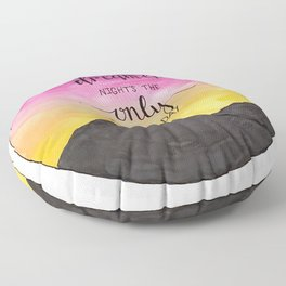 In Santa Fe Floor Pillow