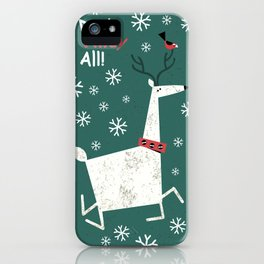 Dash Away All iPhone Case
