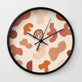 in coa land Wall Clock