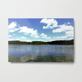 A Day on the Lake Metal Print
