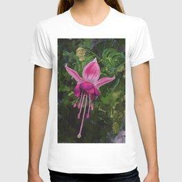 Dancing Pink Fuscia T-shirt