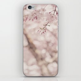 Pastel sakura iPhone Skin