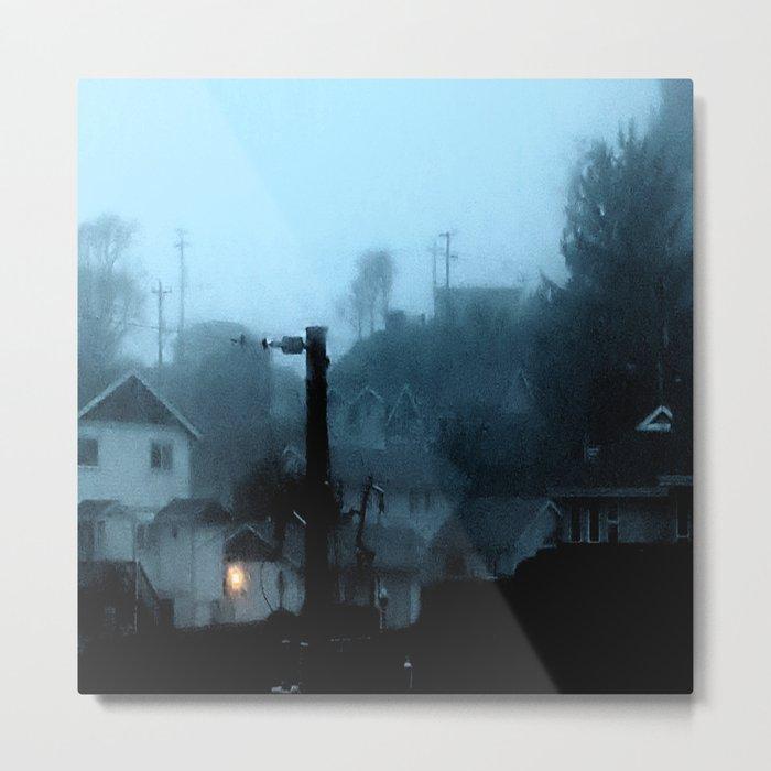 Strange Night: Ghost Light Metal Print